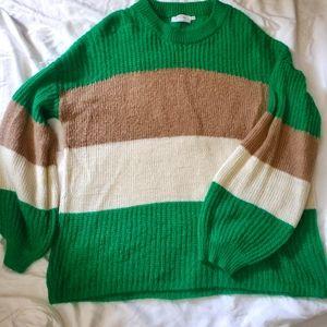 Katie Sturino x Stitch Fix Color Block Sweater